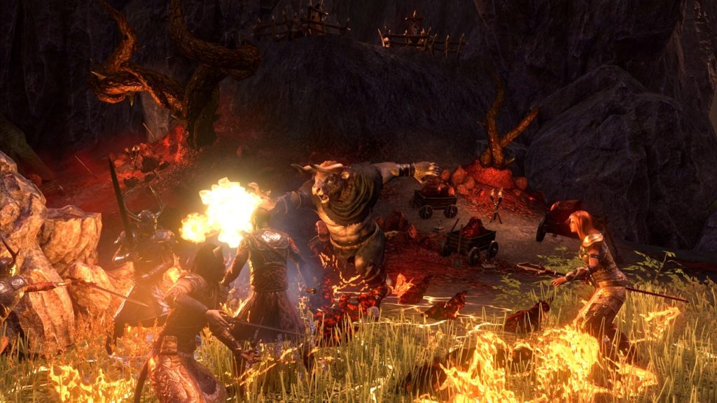 Face The Hordes Of The Dreadhorn Clan In ESO DLC Horns Of